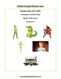 """Distance Learning, Gr 3-5:""""Peter Pan Adventure"""" Moods of the Story for ADD/ADHD"""