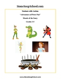 Grades 3 - 5 Peter Pan Adventures - Moods of the Story For Students with Autism