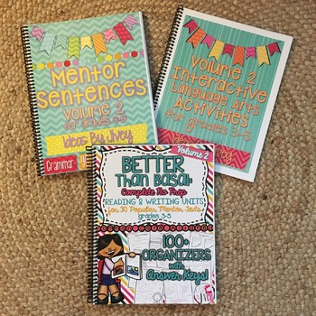 Grades 3-5 Printed HARD COPY BOOK (Vol 2) Bundle