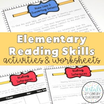 Reading Skills: Notes, Worksheets, & Graphic Organizers EN