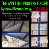 Grades 3-5 The Writing Process Folder, Classroom Posters,