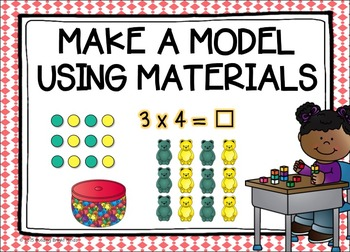 Grades 3-6 Maths Problem Solving Strategies {Coral and Emerald Theme}