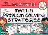 Grades 3-6 Maths Problem Solving Strategies {Coral and Eme