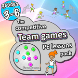 PE Team Games - 21 sport activities for grades 3-6