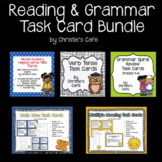 Grades 3-6 Reading and Grammar Bundled Task Card Sets
