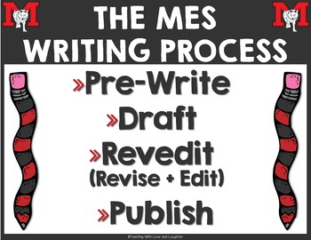 Grades 3-6 Writing Process Posters {Special Request for Missy}