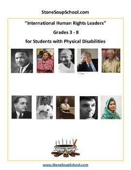 Grades 3-8 International Human Rights Leaders- Students w/ Physical Disabilities