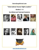 Grades 3- 8: International Human Rights Leaders for the Gi