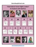 ASL, Grades 3-8: International Human Rights Leaders for St