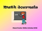 Grades 4-5 Math Journal-100+dayss