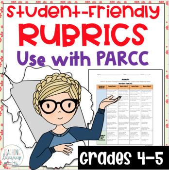 Student-Friendly PARCC Scoring Rubrics; Narrative,Literary Analysis-Grades 4 & 5