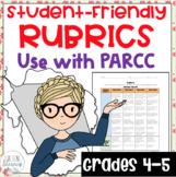 PARCC ELA Student Friendly Rubrics Grades 4 and 5