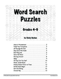Grades 4-6 Language Arts: Word Search Puzzles