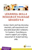 Grades 4-6 Learning Skills Mega-Bundle - Everything You Need for Report Cards
