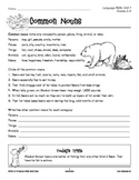 Grades 5-6 Language Arts Unit 1: Nouns