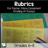 Rubrics- 5 Paragraph Essay