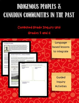 Grades 5 and 6 Combined Grade Mega Bundle First Nations So