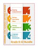 Grades 6-12: Bundled Teacher/Student Friendly Common Core Writing Rubrics