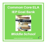 Grades 6-8 Common Core English Language Arts IEP Goal Bank