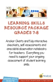 Grades 7-8 Learning Skills Mega-Bundle - Everything You Need for Report Cards