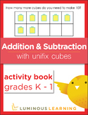 Grades K - 1 Addition and Subtraction with Unifix Cubes: Activity Book BUNDLE