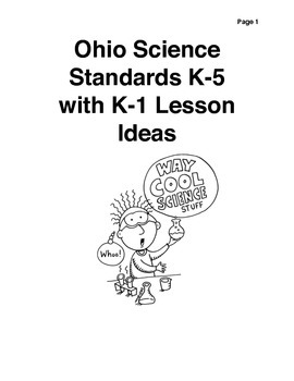 Grades K-1 Science Lessons
