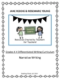 Grades K-4 Special Education Narrative Writing Curriculum (Lucy Calkins Inspired