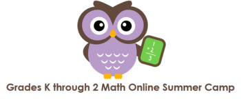 Grades K through 2 Math Online Camps