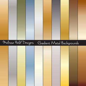 Gradient Metal Backgrounds
