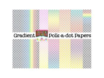 Gradient Polk-a-dot Papers