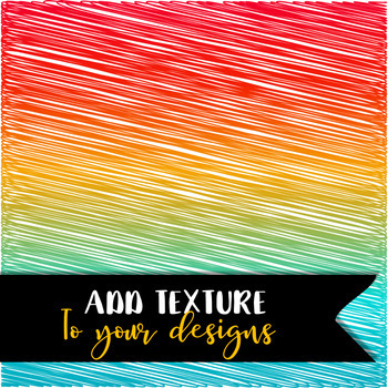 Gradient Scribble Digital Papers - Commercial & Personal Use