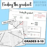 Gradient (Slope) Guided Notes
