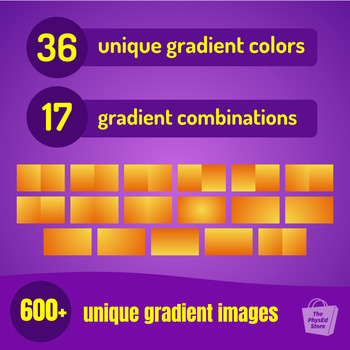 Gradients - Volume 1  |  For Backgrounds, Green Screen and Presentations