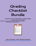 Writing Rubrics Bundle Pack
