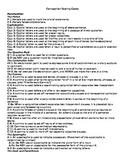 Grading Composition Scoring Codes