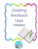 Grading Feedback Tags