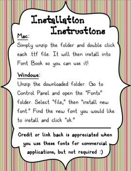 Grading Pen Font Pack FREEBIE