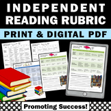 Independent Reading Assessment, Time on Task Rubric