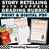 Story Retell Assessment, Reading Rubric
