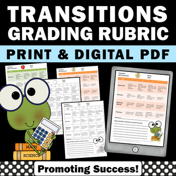 Transitions  Special Education Rubric