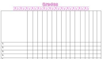 Grading Sheet