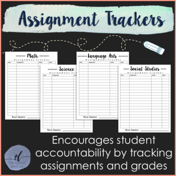 Grading Sheets: Assignment Trackers for Students and Teachers