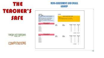 Small Groups Analysis on Excel