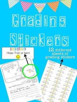 Grading Stickers