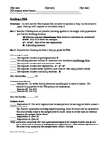Grading a Text Dependent Analysis (TDA) Worksheet for Stud