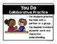 Gradual Release of Responsibility Instructional Poster Clip Chart Class Display