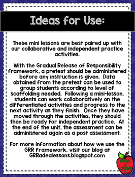 Gradual Release of Responsibility Jimmy Carter 4-Day Mini-Lessons & Activities