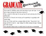 Graduate Farewell Cards