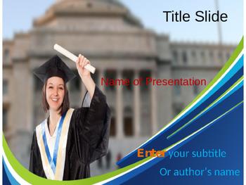 Graduate PPT Template
