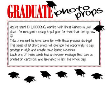 Graduate Photo Props